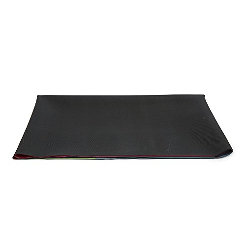 Geo Blue Combo Yoga Mat: The Combo Yoga Mat 1 Mm. TRAVEL VERSION. Lightweight