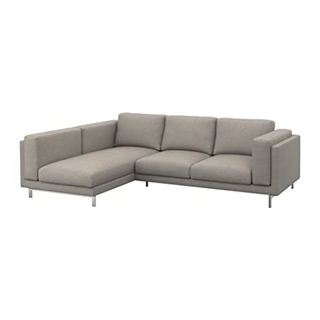 Amazon.com: Ikea Cover for 3-seat sectional, left, Tenö ...