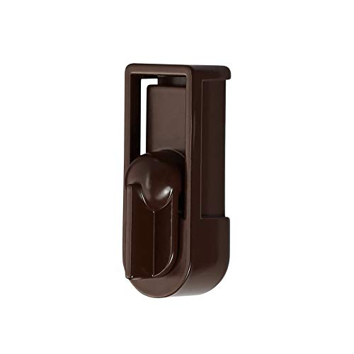 Ideal Security SK5 Deadbolt for Storm and Screen Doors Brown