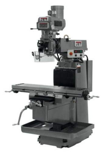 JET Milling Machine with 3-Axis ACU-RITE G-2 Millpower CNC with Air Power Drawbar - 12in. x 54in. 230/460 Volt, 3-Phase, Model Number JTM-1254VS