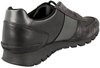 Prada Herren Leder Sneaker 4E2923 OQW F0207