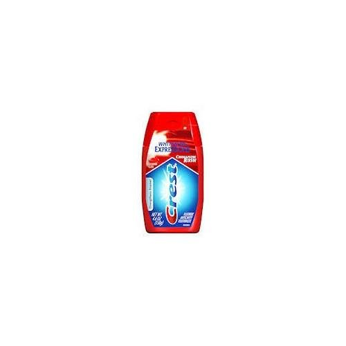 Crest Complete Whitening + Cinnamon Expressions Toothpaste Liquid Gel Cinnamon Rush 4.6 OZ - Buy Packs and SAVE (Pack of 6) ()