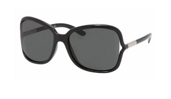 5699894ab65b2 ... canada prada pr28ls pr 28ls 1ab1a1 gloss black propionate frame gray  lenses sunglasses shades 58mm amazon