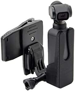 FiedFikt Support de Fixation pour Osmo Pocket Top DJI Support de t/él/éphone avec vis dextension /étanche pour sacoches de v/élo