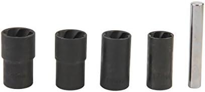 Steel Each 1//2 in Drive 1 in Lug Nuts Black Powder Coat Pit Socket Saturday Night 3-1//4 in Long QuickCar Racing Products Lug Nut Socket
