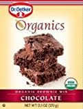 Organic Brownie Mix Chocolate 13 Ounces (Case of 12)