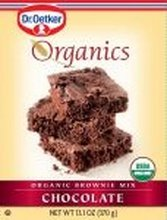 Organic Brownie Mix Chocolate 13 Ounces (Case of 12) by European Gourmet Bakery Organics