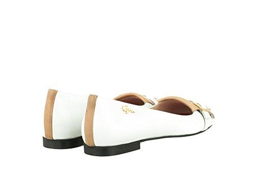 Piel Varios Bailarinas blanco Mori Multicolore Gianrico de Colores mujer para FqtYxw