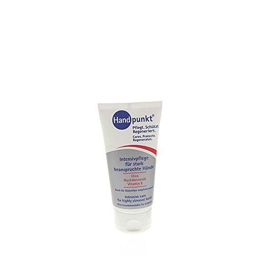 Handpunkt Intensivpflege für stark beanspruchte Hände Aloe Vera und 10% Urea, trockene Haut, 75 ml