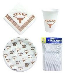 Texas Longhorns Party Pack