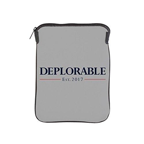 CafePress - Deplorable Est 2017 - iPad Sleeve]()