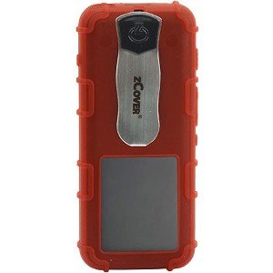 zCover Dock-in-Case Carrying Case for IP Phone - Red, Transparent