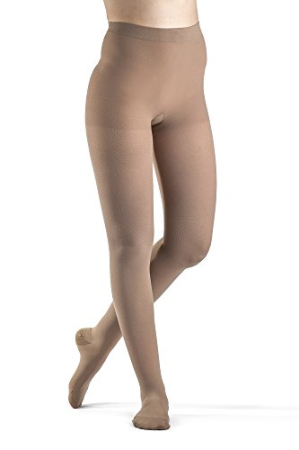 SIGVARIS Women's ACCESS 970 Closed-Toe Pantyhose Medical Compression 30-40mmHg