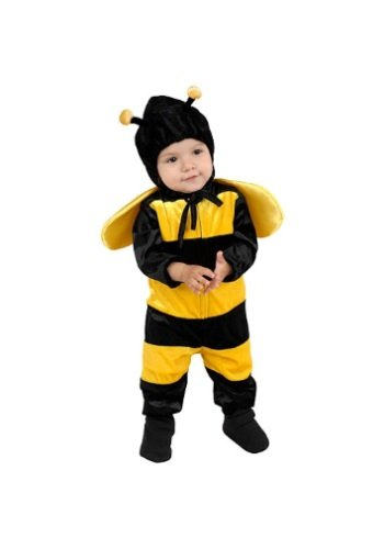 Charades Little Bee Baby/Toddler Costume, Toddler -