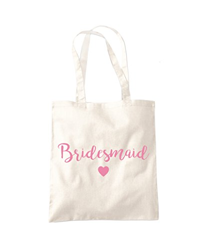 Wedding Bridesmaid do Bag Hen Tote Shopper Natural Fashion Gift qPPtzcW4