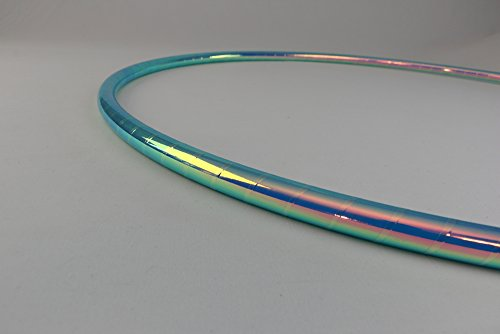 Color Changing Polypro Hula Hoop for Dance and Fitness (Brilliant Mermaid, 32