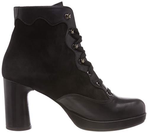Black jazz Boots Mihara Black Black Jaba Anis Ankle Chie Black Women's w4aqw0