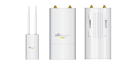 Ubiquiti UniFi AP Outdoor+ High-Density Wi-Fi System (UAP-Outdoor+ US) 802.11 b/g/n, 2.4 GHz speed, speed upto 300 Mbps