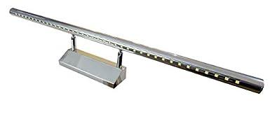 (LA) Aplique baño cromado 40cm LED 220V color blanco frio 6500K (40cm) [Clase de eficiencia energética A++] Led Atomant