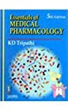 Essentials of Medical Pharmacology, Tripathi, 8180611876