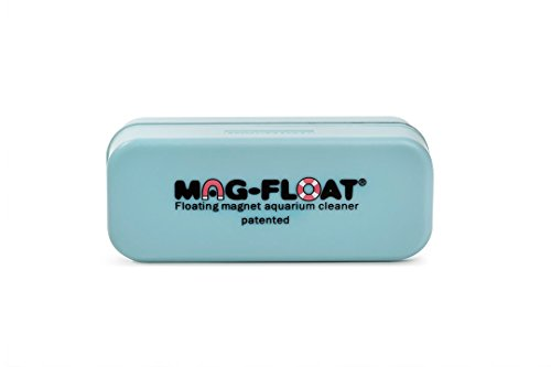 Marina Algae Magnet Cleaner - Gulfstream Tropical AGU130A Mag-Float Acrylic Aquarium Cleaner, Medium