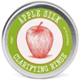 Apple Silk Clarifying Hair Rinse | Adds Shine & Restores Health to Hair by Removing Hair Product Residue | Rebalances the PH of Scalp | Alternative to Apple Cider Vinegar | Travel Friendly