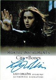 Mortal Instruments City Of Bones Autograph Card A Lci Lily Collins