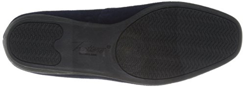 Slip on Women's Lamar Trotters Suede Loafer Navy RfEqcOAWc