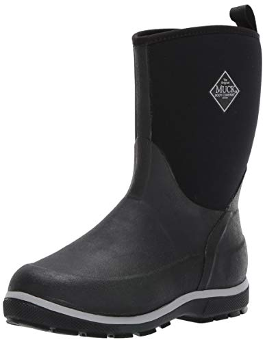 Muck Boot Unisex Element Knee High Boot, Black, 6 Regular US Big Kid (Boys Muck Snow Boots)