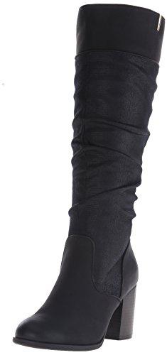 ALDO Call It Spring Womens Cameroona Slouch Boot Black Nubuck