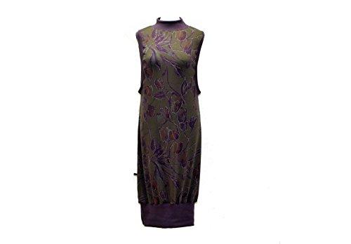 Sweat Lila dunkle Etui design Kleid Damen Tulpenform Grau cvzWzn0rx