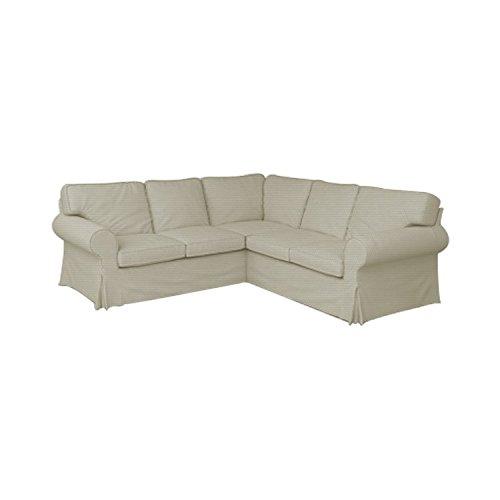 Amazon.com: tlyesd 2 + 2 plazas Ektorp funda de sofá ...