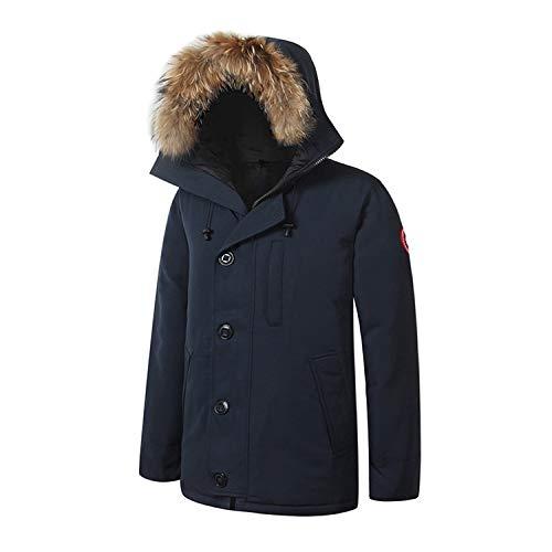 - Autumn Homme Men Parka Winter Jacket Coat Outdoor Parka Male Parka,C,Xs