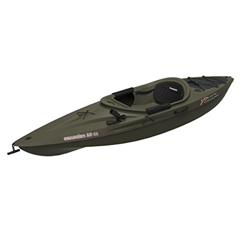 SUNDOLPHIN Sun Dolphin Excursion SS 10-Foot Sit-in Fishing Kayak