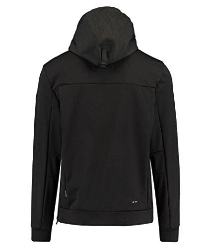 Softshell Black Mens Rainforest Jacket Napapijri fqOxwZEX0