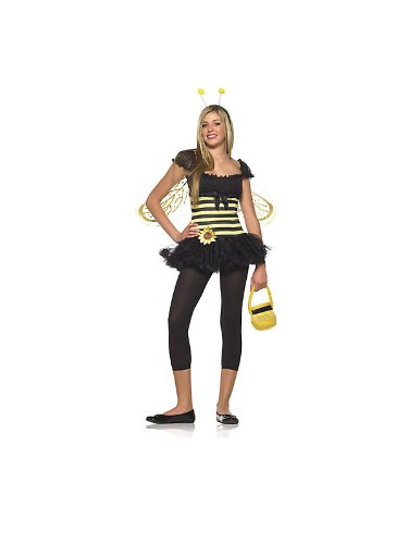 Sunflower Bee Teen/Junior Costume - Teen Small/Medium -