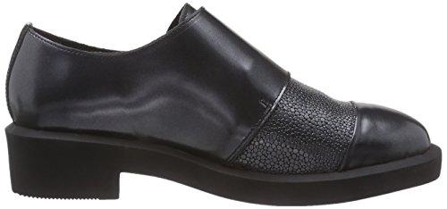 Zapatos Mehrfarbig Mujer Para Derby Multicolor Bronxbcarlx Gunmetal 101 T6qvdxdWH