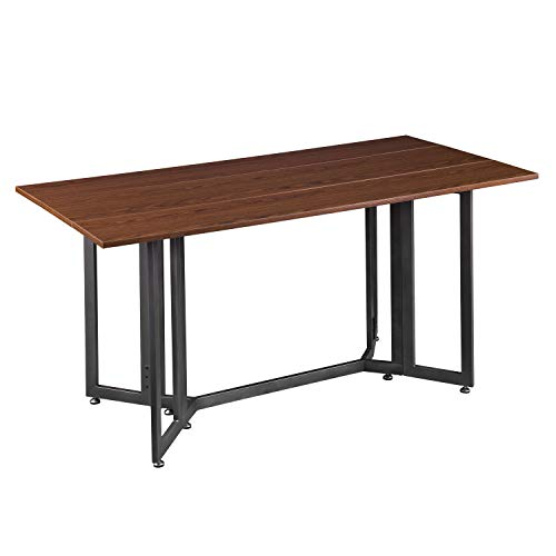 Southern Enterprises Driness Drop Leaf Console Dining Table, brown