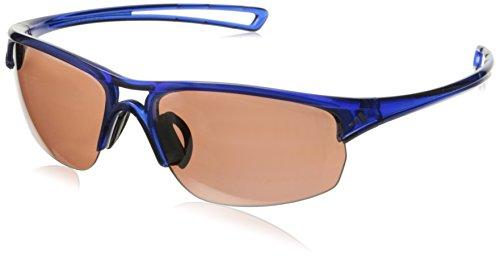 adidas Raylor 2 S Non-Polarized Iridium Oval Sunglasses, Transparent Blue, 60 - Adidas Transparent