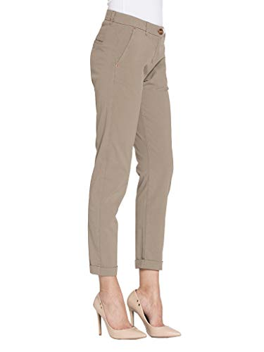 Liso Carrera Para Popelín Chino Es Tejido 42 Color Jeans Mujer qrXrn0wOE