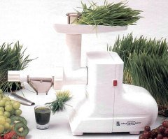 Miracle MJ-550 Electric Wheatgrass Juicer by Miracle
