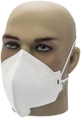 Respirador Pff2 Branco Mascara N95 Inmetro Com 10 Unidades