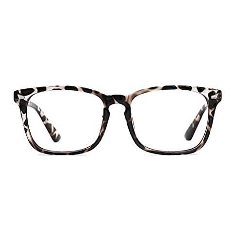 - 31 TD  1aGL - TIJN Blue Light Blocking Glasses Square Nerd Eyeglasses Frame Anti Blue Ray Computer Game Glasses