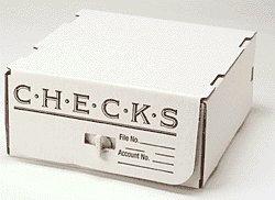 - EGP Corrugated Check Storage Box, 10