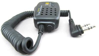 Icom Original IC-HM75LS HM-75LS Remote Control Speaker Microphone with Slim L Connector - Compatible with ID-31A/ID-51A