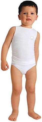 RelaxMaternity Baby 5940 Canottiera Bambino Cotone 6-36 Mesi Taglia Unica