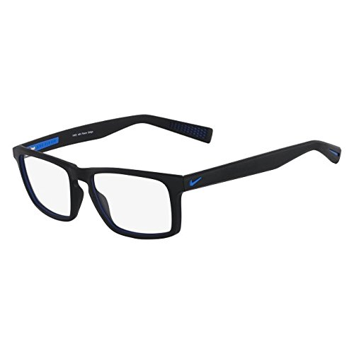 Designer Radiation Leaded Protective Eyewear in Full Rim Plastic Frame - 4258 - Black Photo Blue - 53-17-145mm