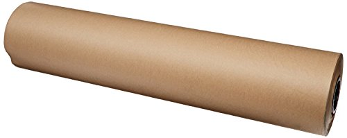 "Brown Kraft Paper Roll 36"" x 200 ft (2400 inches) Single Roll, Proudly Made in The USA 100% Recycled Material, for Table Cover, Gift Wrapping, Moving Paper, Packing, Postal, Shipping. ()"