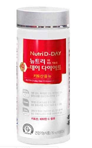 Nutri D-Day Diet Chitosan All New 750mg x 90EA (Total 67.5g)