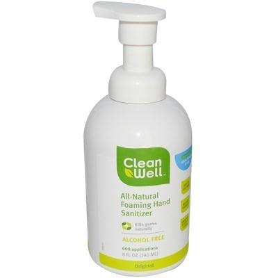 CLEANWELL HAND SANTZ FOAM pack product image